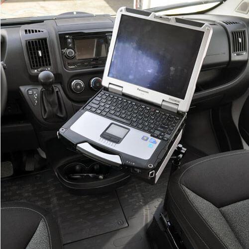 Dodge Ram Promaster >> Dodge Ram ProMaster (2014+) Laptop Mount 425-5285 - GoJotto