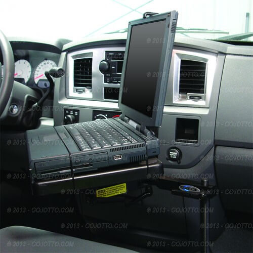 Dodge Ram 1500 Accessories >> Dodge Ram 1500 Laptop Mount (2002-2008) Also Fits Dodge Ram 2500 and 3500 (2002-2008) 425-5349
